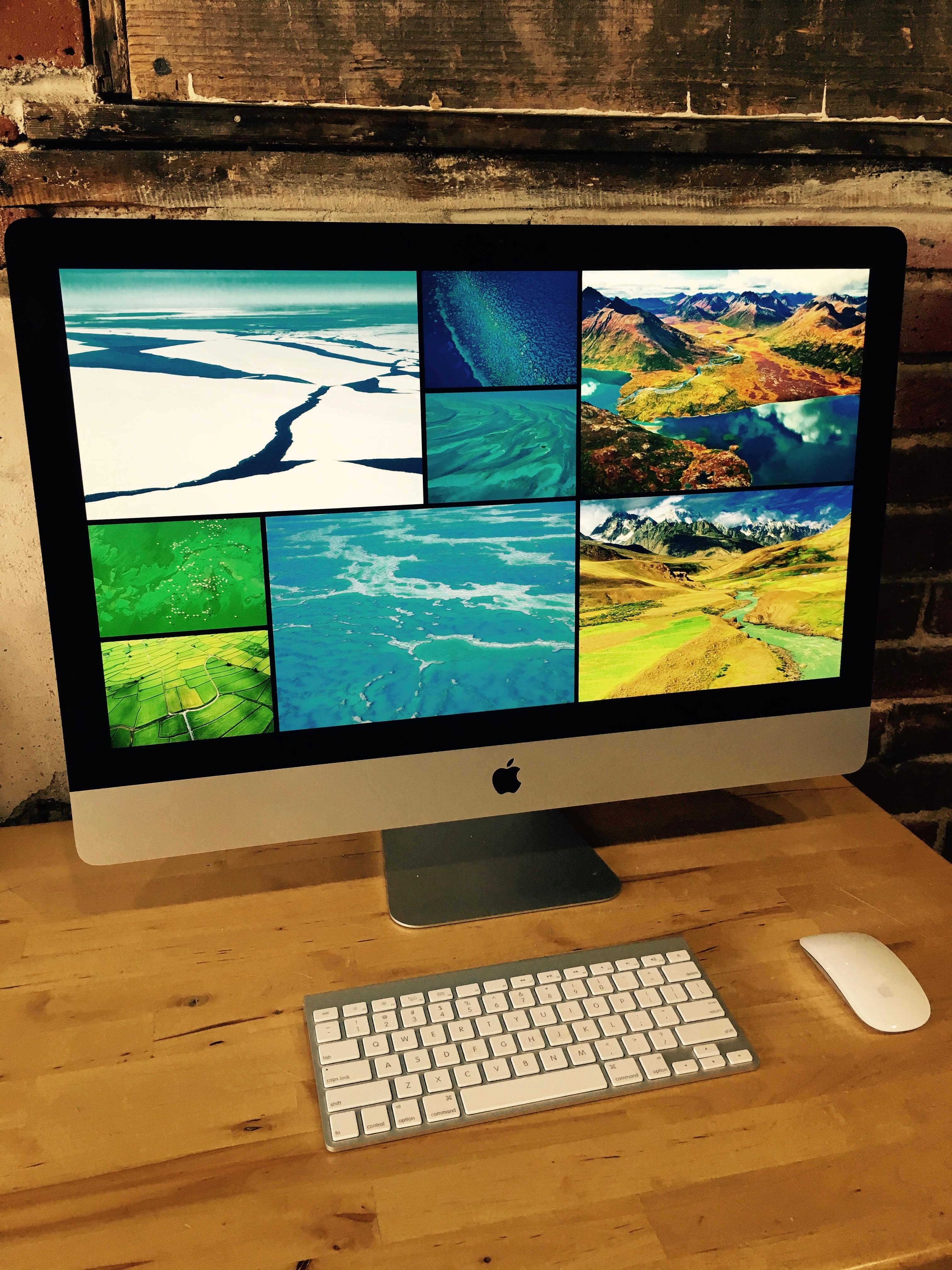 sold 27 inch 5k imac late 2014 1 750 denver mac repair. Black Bedroom Furniture Sets. Home Design Ideas